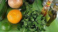 marinade für fleisch, fisch und gemüse
